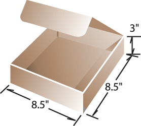 box dimensions for Antistatic Tinsel by TAKK